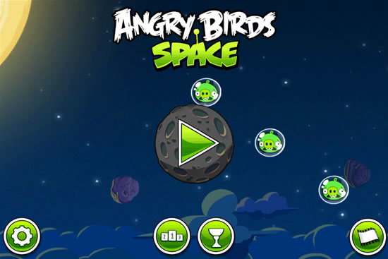 Angry Birds Space for iOS