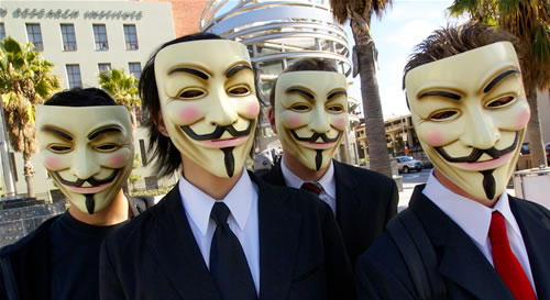 Anonymous Group iCloud Hack