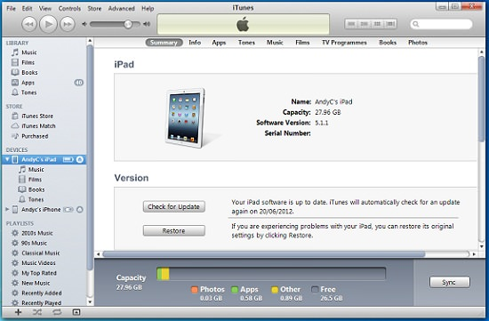telecharger itunes version 10.6.3