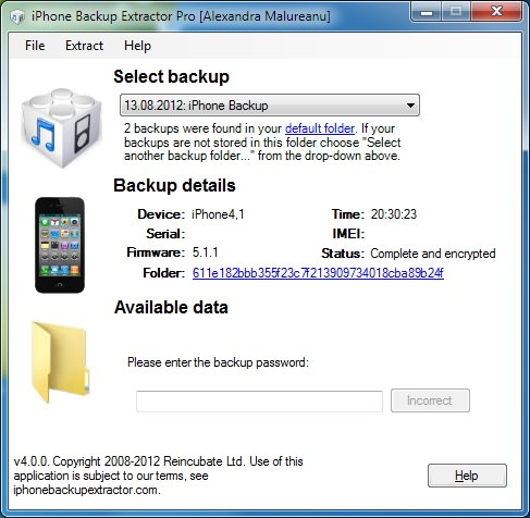 how to factory reset iphone without itunes what s new in iphone backup extractor 4 encrypted itunes 20041