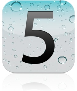 Apple iOS 5.0 logo