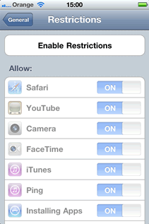 How to recover an iPhone Restrictions Passcode from an iTunes